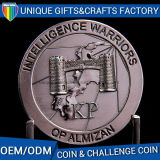 Moneta placcata d'ottone antica di sfida del metallo 3D di alta qualità
