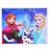 Factory Direct Wholesale Children DIY Crystal Oil Painting Cadre photo Fk-101
