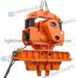 Hydraulic Fixture를 가진 전기 Pile Hammer