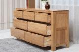 Самомоднейший комод ящика мебели спальни древесины дуба (M-X2005)