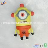 Kundenspezifisches Zeichen-schönes Auge USB-Blinken-Laufwerk Jv1277