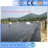 Zwart of Transparant HDPE Membraan als Voering voor Vissen en Shirmp Vijver, ASTM