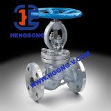 Robinet d'arrêt sphérique industriel d'acier inoxydable de bride d'API/DIN/acier de moulage