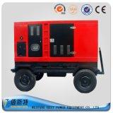 Schalldichter wassergekühlter festlegender Dieselmotor des elektrischen Strom-250kVA