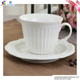 Anaglifo Ceramic Coffee Cups e Saucers