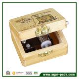 Коробка нот ретро рукоятки 8 тонов деревянная для подарка