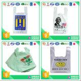 De Zak van de T-shirt van het Af:drukken van de Prijs van de fabriek voor Supermarkt