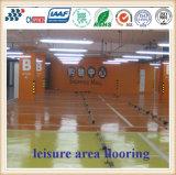 Haltbaren sicheren und rutschfesten Leasire Bereichs-Bodenbelag mit Wasserbeständigkeit färben