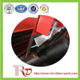 Y-Tipo borracha da placa de contorno dos componentes do transporte de 45deg