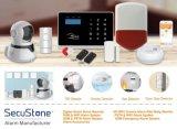 新しい無線スマートなホームGSMおよびAPPおよびRFIDのWiFiの侵入者の警報システム