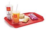Kunststoff-Fast-Food-Tray für Restaurant