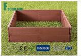 """Plantador levantado composto 42 """" X 84 """" X 8 """" do jogo do jardim da base de WPC para crescer vegetais saudáveis"""