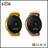 El reloj elegante impermeable K88h para el IOS y androide, el teléfono elegante IP54 del reloj del monitor del ritmo cardíaco impermeabiliza el teléfono K88h del reloj