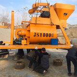 Prix concret électrique stationnaire de mélangeur de Beton d'arbre jumel (Js1000)