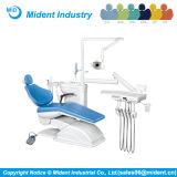 Unidad dental de la silla del equipo dental con la sola maneta