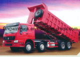 HOWOのブランドダンプトラックを運転する8X4 30トンの