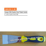 Raspador flexible Polished de la lámina del espejo plástico bicolor de la maneta