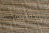Escolhir tomado o partido escovado, manta tingida fio poli/tela de rayon, 220GSM