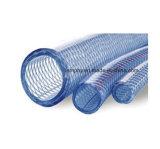 Boyau renforcé par tresse claire de PVC de débit de l'eau de catégorie comestible