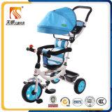 Triciclo sicuro e comodo della sede 360-Rotating per il bambino con Pushbar