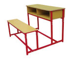 Lb-0215 School Furniture/Student Table Chair Set com Good Quality