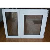 Finestra di alluminio rivestita della stoffa per tendine di profilo della polvere Kz014