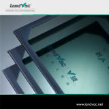 Landvac no ultramar após os painéis de vidro isolados vácuo do serviço de venda para a porta do vidro do gabinete