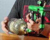 Миниый алюминий, бак Hpa волокна углерода для игры Paintball