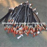Boyau flexible tressé normal en caoutchouc de frein hydraulique de SAE J1402/SAE J1401