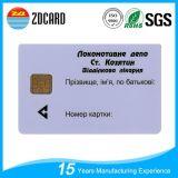 Contatar o cartão de sociedade do cartão da identificação com listra magnética