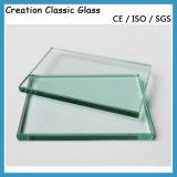 glace Tempered claire de verres de sûreté en verre Tempered de 3mm-12mm
