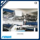 Máquina elevada de Stenter de matéria têxtil da capacidade de produção para a tela misturada Spandex