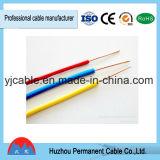 Fio de cobre elétrico contínuo BV/RV do fio revestido do PVC em China