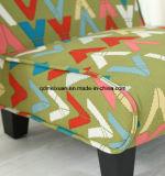 Pés de madeira modernos do sofá com amostra (M-X3073)