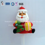 Mini Polymer Clay Christmas Decoration Santa Claus