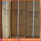 Documento refrattario puro delle 1260 un alto dell'isolamento termico lane della fibra di ceramica