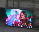 Afficheur LED bon marché polychrome de Pixel des prix des prix bon marché fixés au mur d'accès principal ultra minces de l'intense luminosité F10