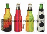 Refroidisseur polychrome de bouteille du néoprène d'impression, porte-bouteilles du néoprène pour la bouteille à bière