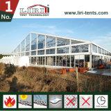 会社の年次会合のためのガラス壁が付いているTranpsarentの大きいテント