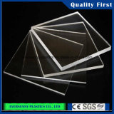 Feuille acrylique transparente de prix bas et de qualité