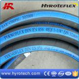 Manguera hidráulica espiral de cuatro cables (SAE 100R9/R12, estruendo EN856 4SH/4SP)
