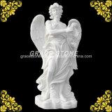 Stone intagliato Statue con Wing