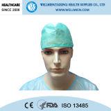 Nichtgewebte Wegwerfschutzkappe des Doktor-Cap Surgeon Cap Surgical