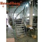 داخليّة يضمّد درج مع هندسة تصميم حديث ([سج-850])