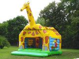 Nach Maß aufblasbare Giraffe-federnd Haus