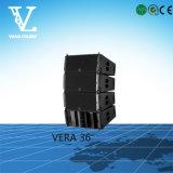 Double à trois voies 10 d'alignement de Vera 36 haut-parleur de large éventail de ligne ''