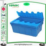 Faltbarer Umsatz-Plastikkasten mit Kappe
