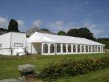 Im Freien klassisches Festzelt, Festzelt-Zelt