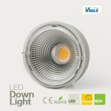 8W con Conductor y Fuente de luz LED Downlight Moveble