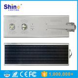 Réverbère Integrated solaire de la batterie au lithium 50W 60W 70W DEL